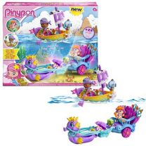 Pinypon Mermaid Carriage+boat