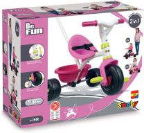 Smoby Be Fun Driewieler Roze