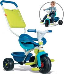 Smoby Be Fun Comfort Driewieler Blauw