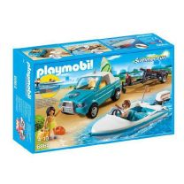 Playmobil 6864 Summer Fun Boot + Pick Up