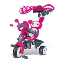 Smoby Baby Driver Roze - Driewieler