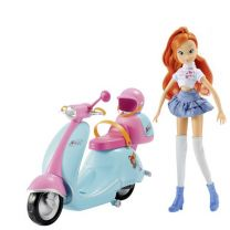 Winx Club Bloom En Scooter